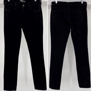 OLD NAVY-Size 2 Long-The Diva Black Skinny Jeans